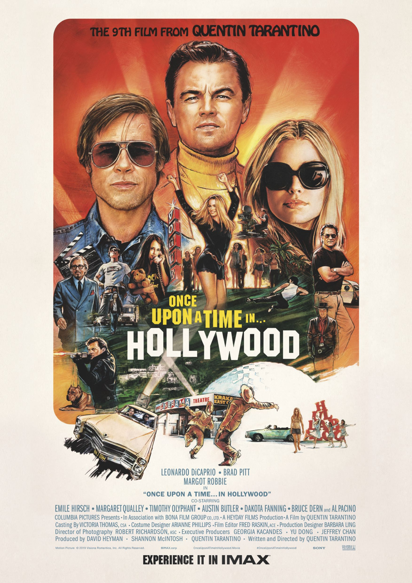 once upon in a hollywood